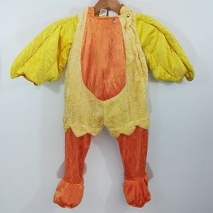Toddler Duck Costume Size 2T-4T Duckling Halloween